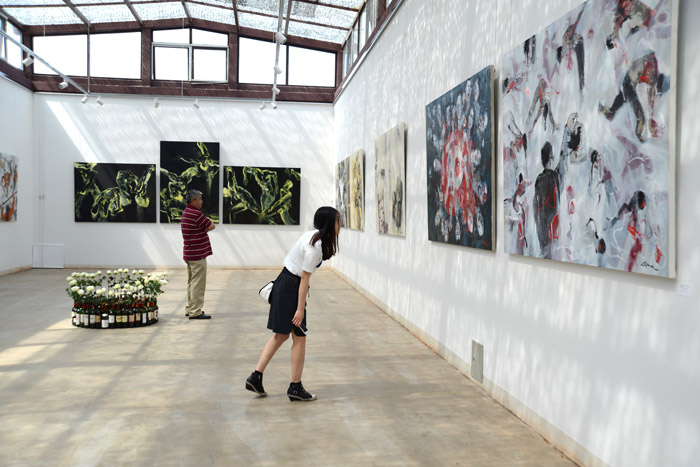 Paintings in Beijing Exhibition in China 2012-2016