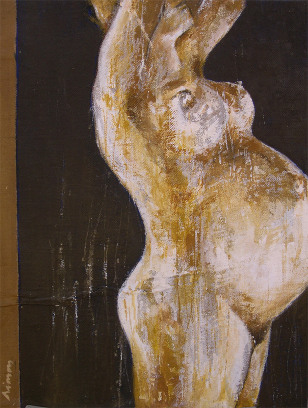 Painting Pregnancy Pregnant woman