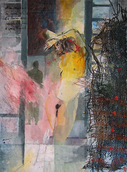 Peinture Erotiques La Porte Fenêtre Oeuvres De Jean Yves Simon