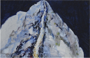 Paintings in Beijing Naked mountains Oil on canvas